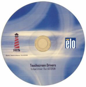 CD de pilotes d'écran tactile Elo