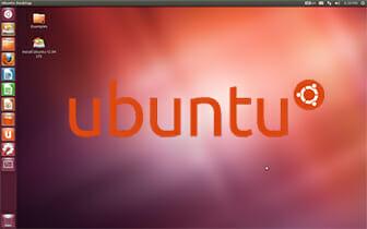 Ecran de démarrage Ubuntu_12.04