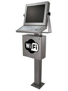 Poste de travail industriel Wi-Fi
