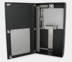 Enceintes industrielles pour PC à usage commercial/industriel avec kit de refroidissement interne