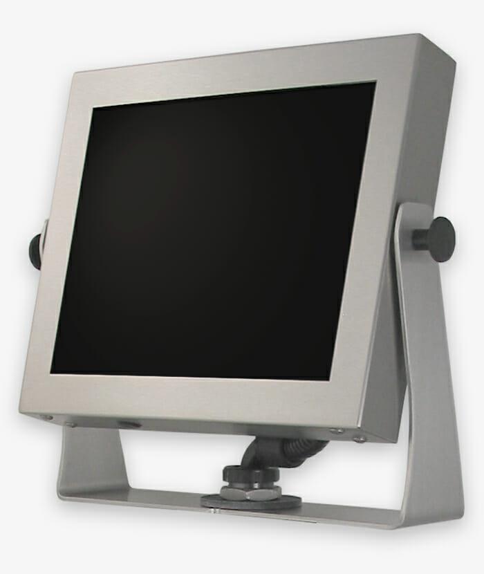 Écrans industriels et écrans tactiles robustes, à montage universel et encastrement total, IP65/IP66