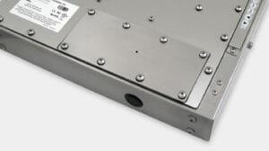 Option de cache pour avant-trou IP65/IP66 pour les écrans industriels à montage encastrable universel