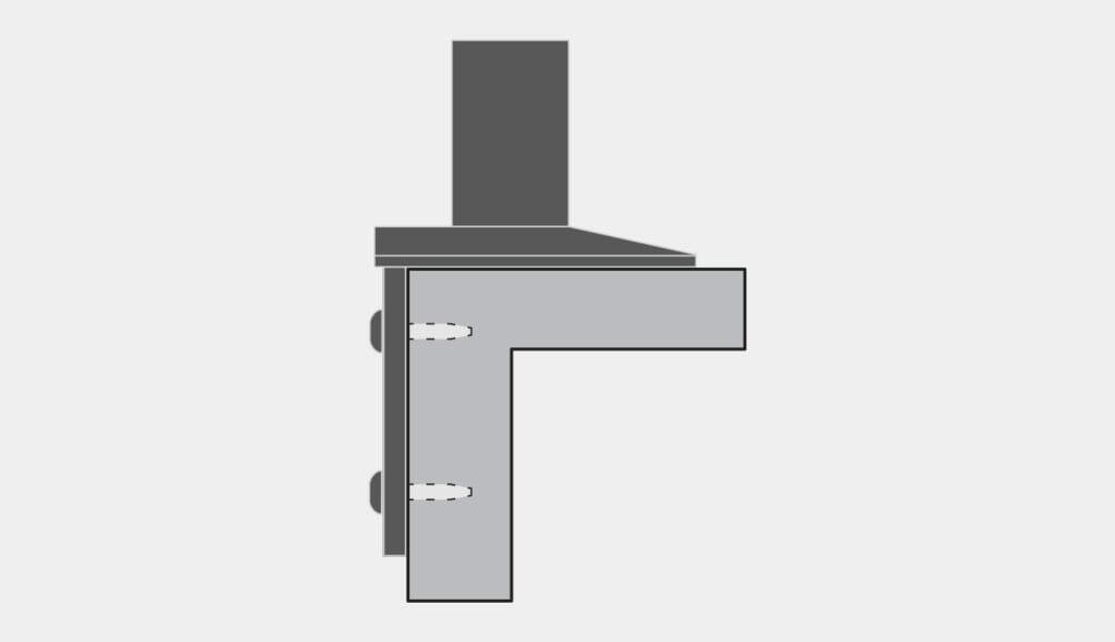Montage latéral