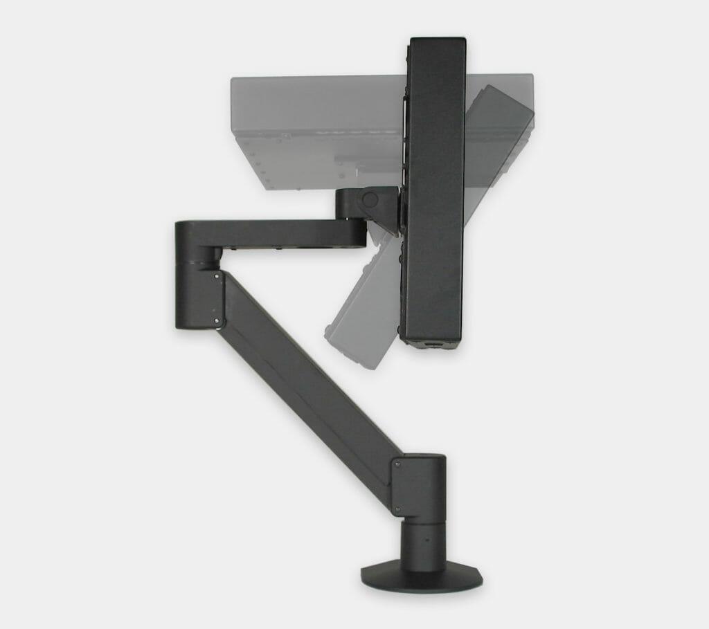 Montage VESA à bras latéral pour écrans industriels, plage d